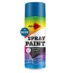 Spray paint  sky blue