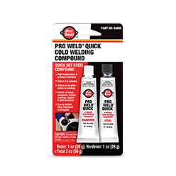 Pro Weld Quick Cold Welding Compound