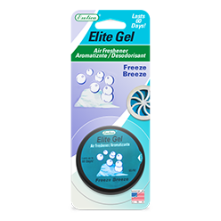 Elite Gel Blister Card. Freeze Breeze
