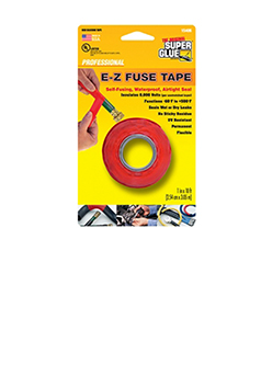 E-Z Fuse Tape, Red 10ft,  Super Glue