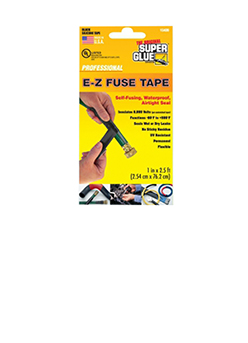 E-Z Fuse Tape, Black 2.5ft, Super Glue